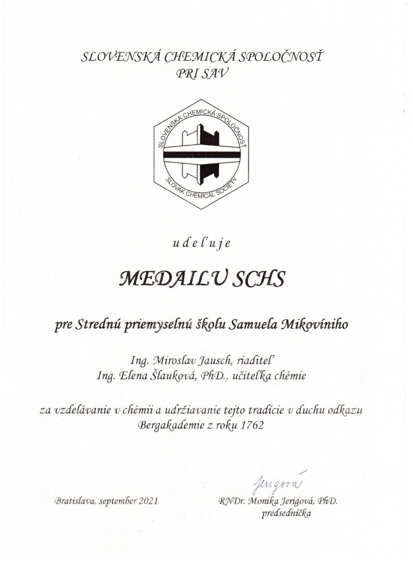 medailaSCHS
